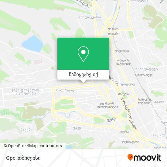 Gpc რუკა