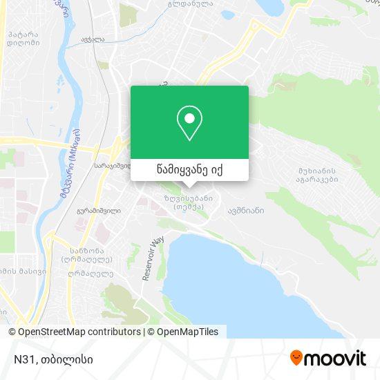 N31 რუკა
