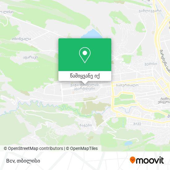 Bcv რუკა
