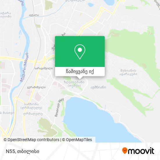 N55 რუკა