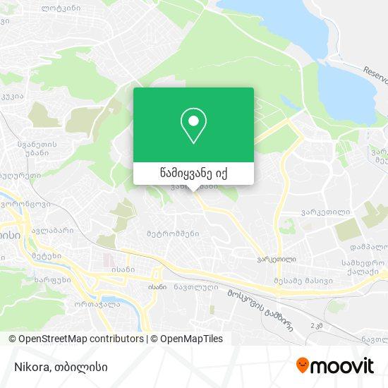 Nikora რუკა