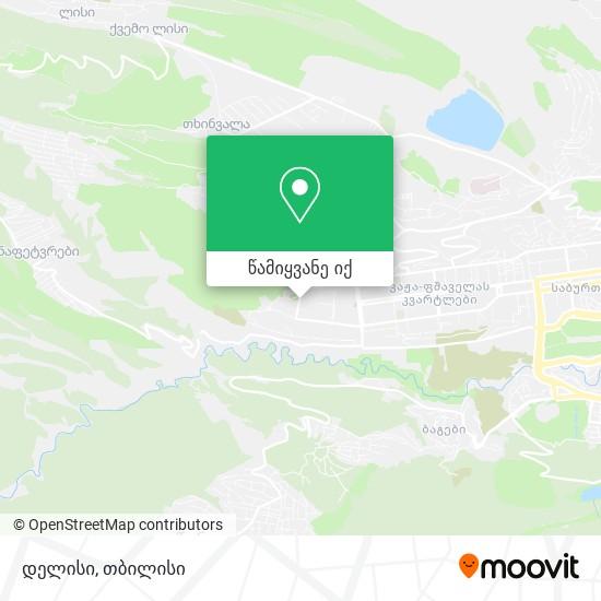 დელისი რუკა