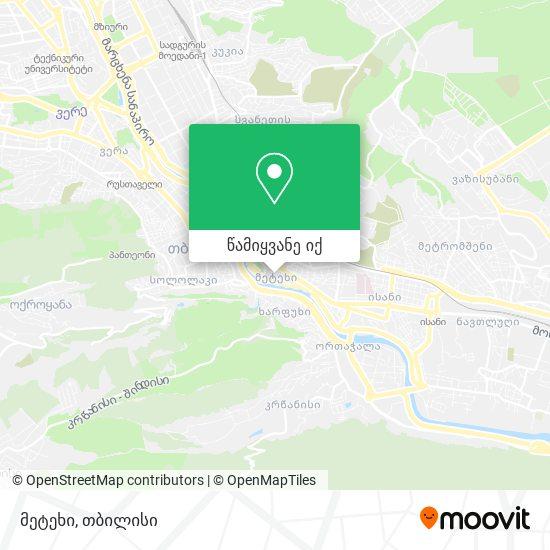 მეტეხი რუკა