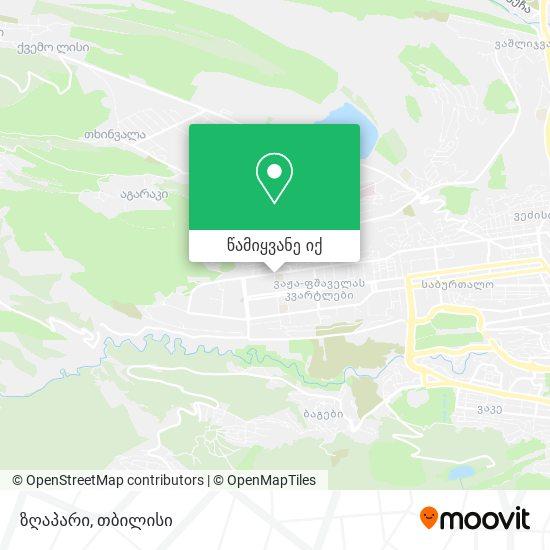 ზღაპარი რუკა