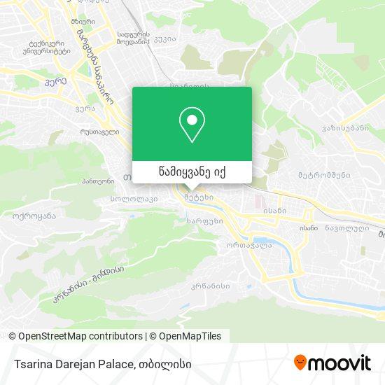 Satschinopalast Turm რუკა