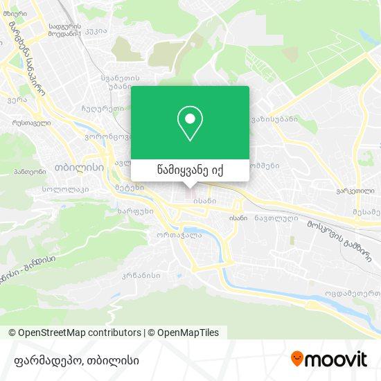 ფარმადეპო Pharmadepot რუკა