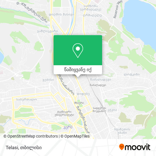 Telasi რუკა