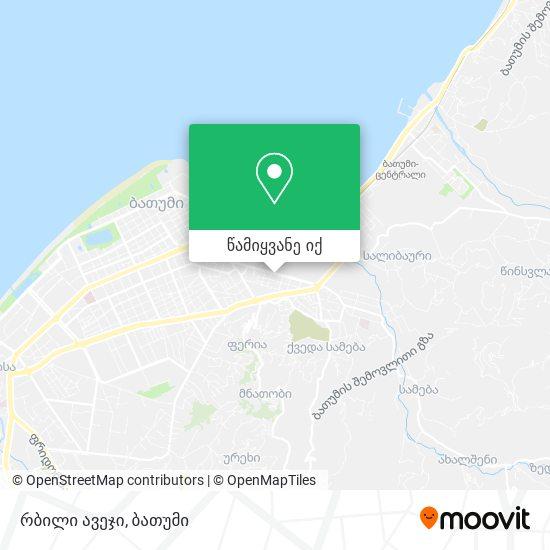 რბილი ავეჯი რუკა