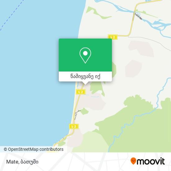 Mate რუკა