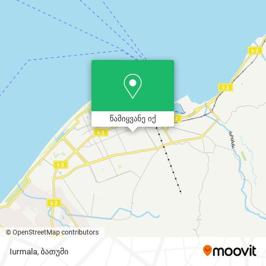 Iurmala რუკა