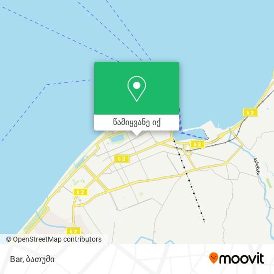 Bar რუკა