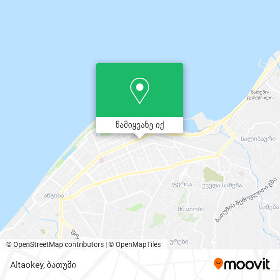 Altaokey რუკა