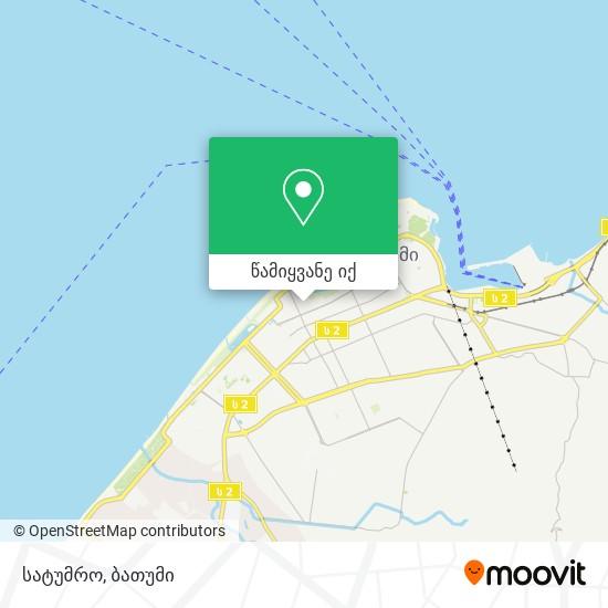 სატუმრო რუკა