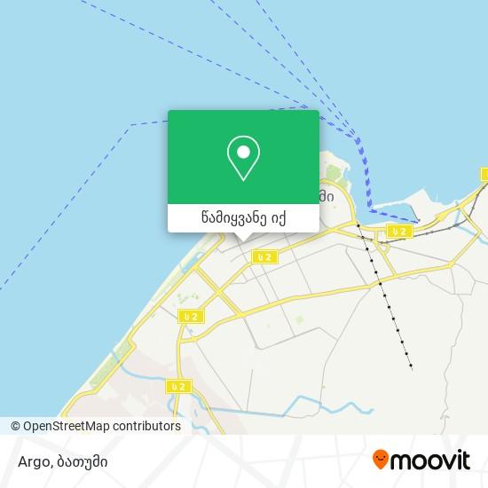 Argo რუკა
