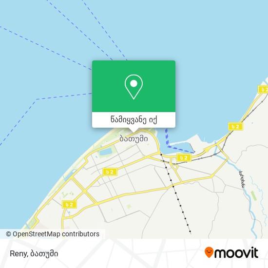 Reny რუკა