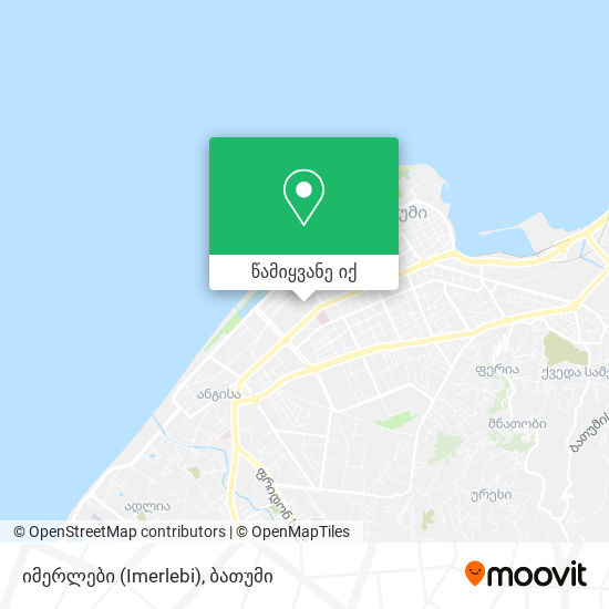 იმერლები (Imerlebi) რუკა