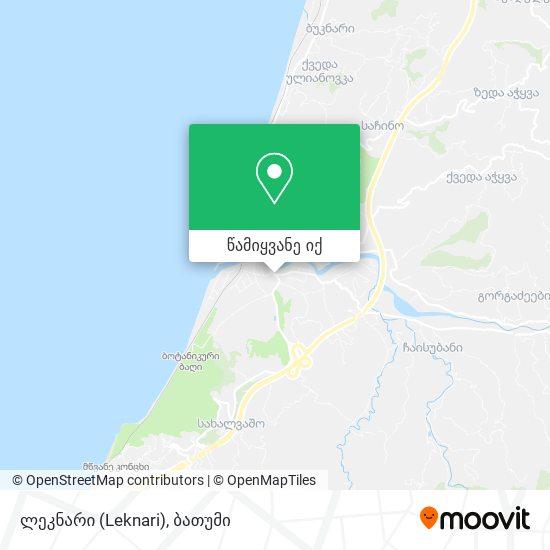 ლეკნარი (Leknari) რუკა