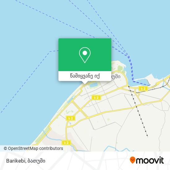 Barikebi რუკა