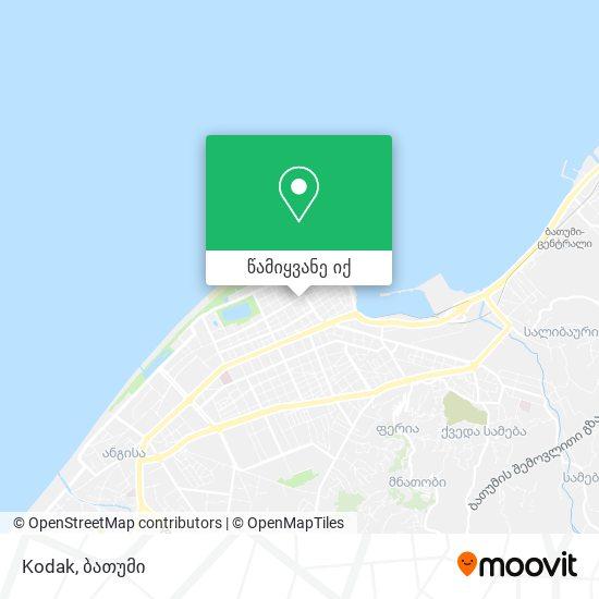 Kodak რუკა