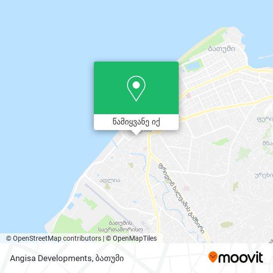 Angisa Developments რუკა
