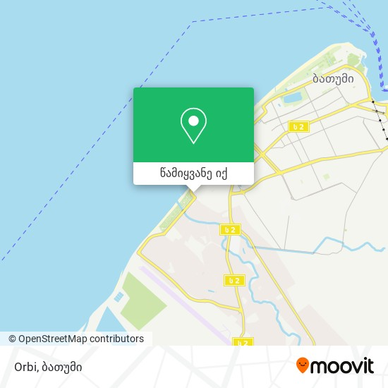 Orbi რუკა