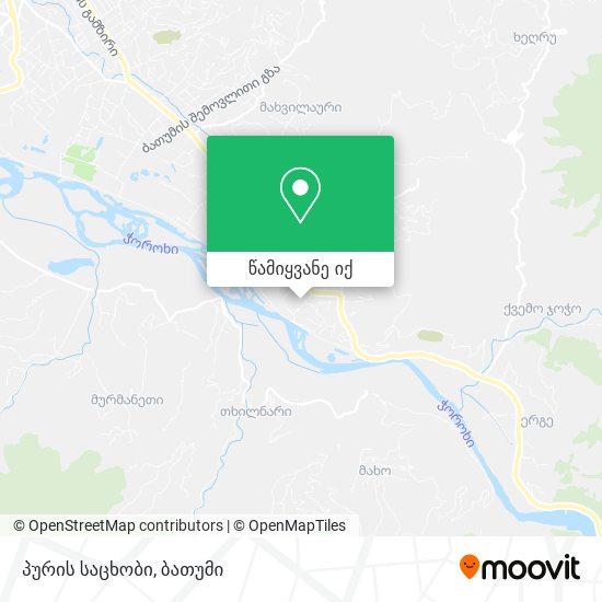 პურის საცხობი რუკა