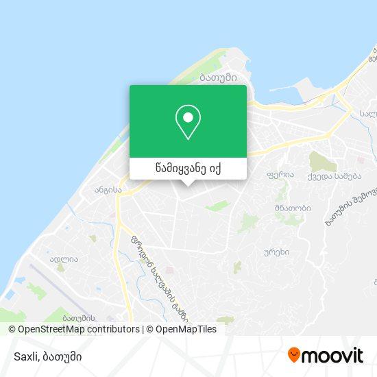 Saxli რუკა