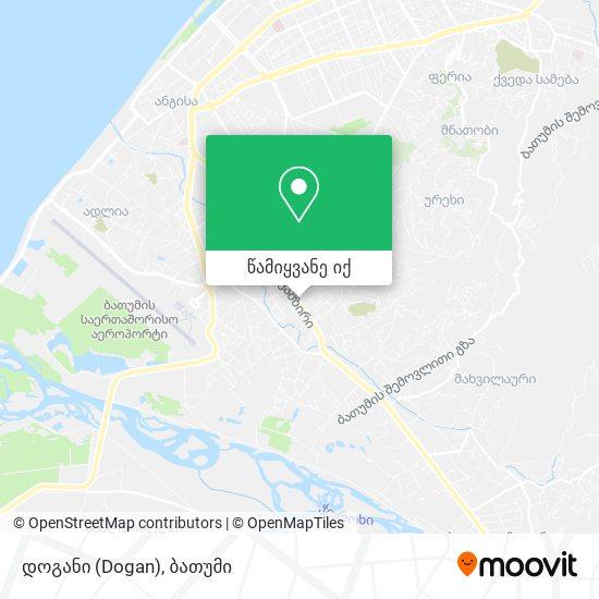 დოგანი (Dogan) რუკა