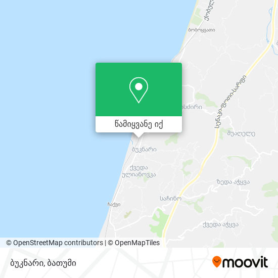 ბუკნარი რუკა