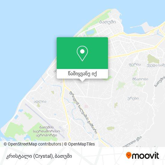 კრისტალი (Crystal) რუკა