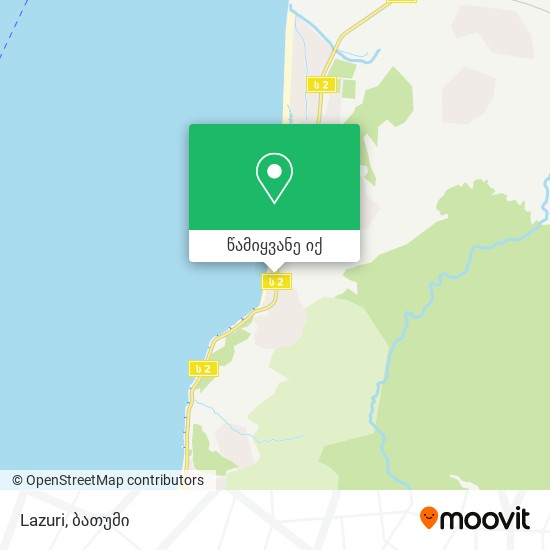 Lazuri რუკა