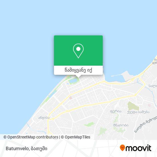Batumvelo რუკა