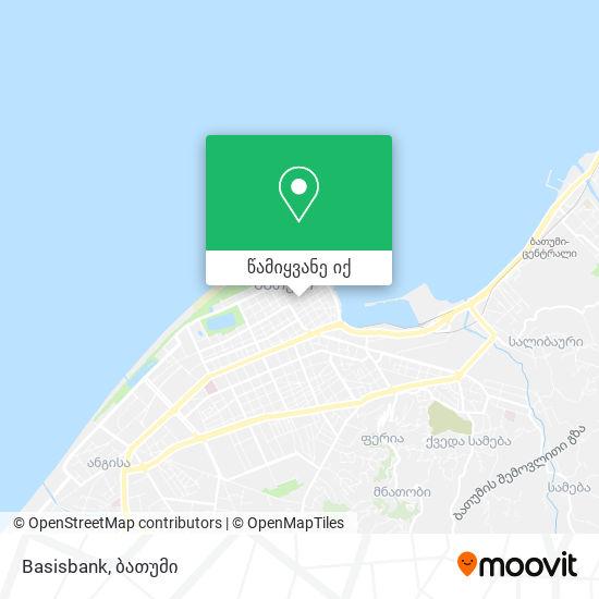 Basisbank რუკა