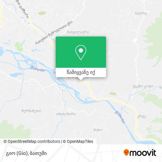 გიო (Gio) რუკა
