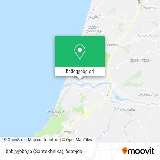 სანტეხნიკა (Santekhnika) რუკა