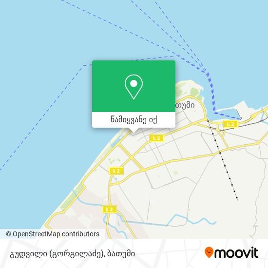გუდვილი (გორგილაძე) რუკა