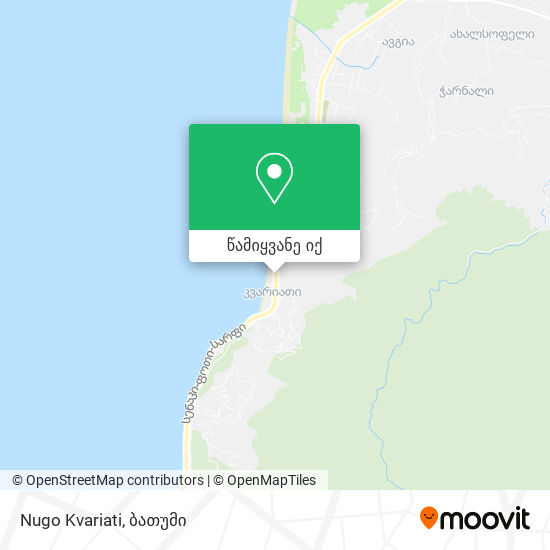 Nugo Kvariati რუკა