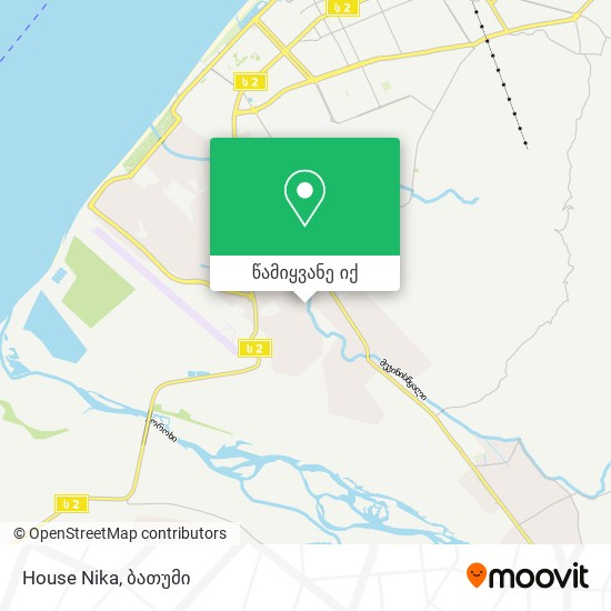 House Nika რუკა