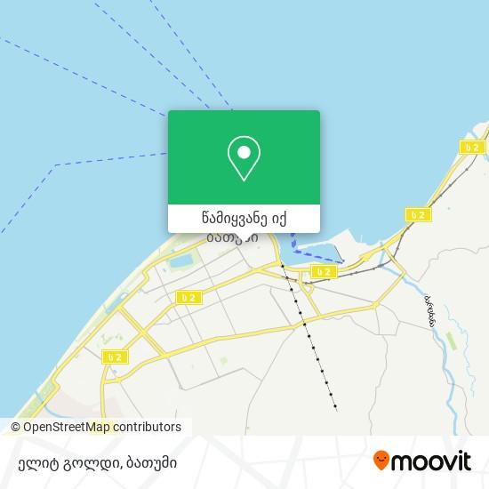 ელიტ გოლდი რუკა