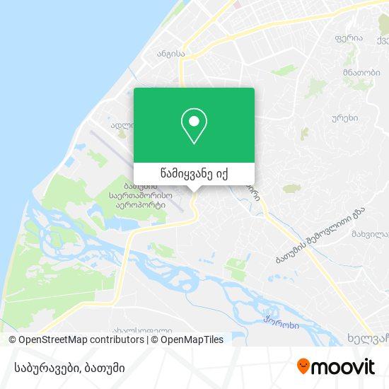 საბურავები რუკა