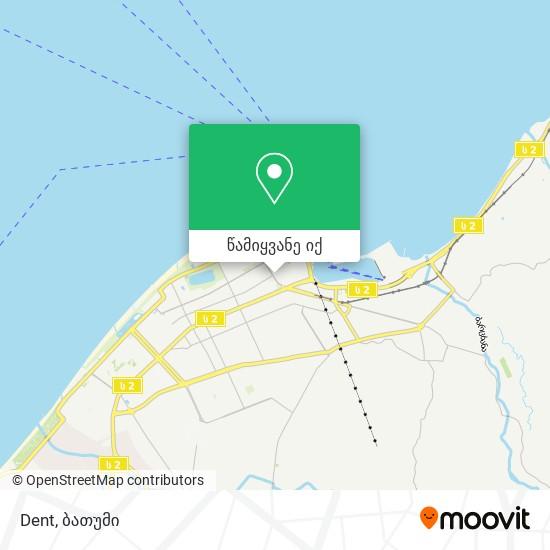 Dent რუკა