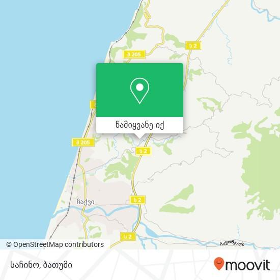 საჩინო რუკა