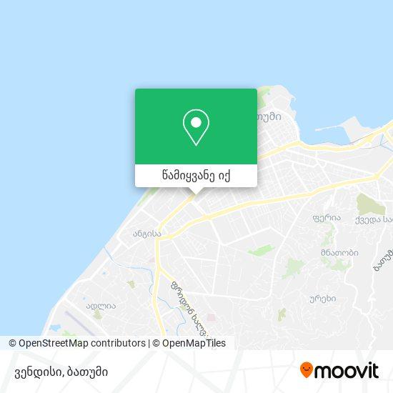 ვენდისი რუკა