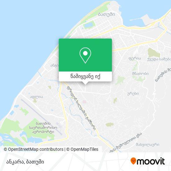 ანკარა რუკა