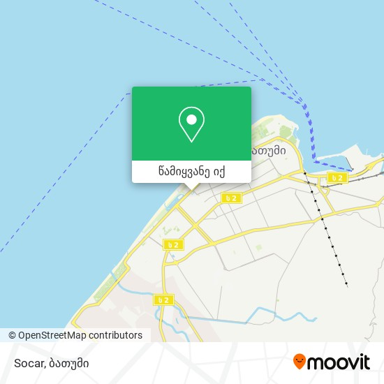 Socar რუკა