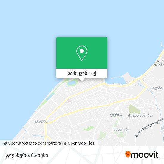 გლამური რუკა
