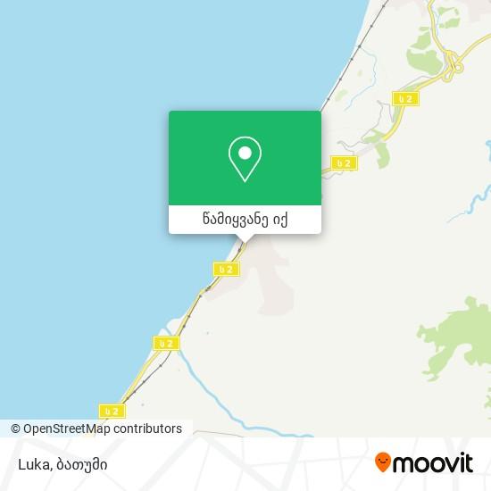 Luka რუკა