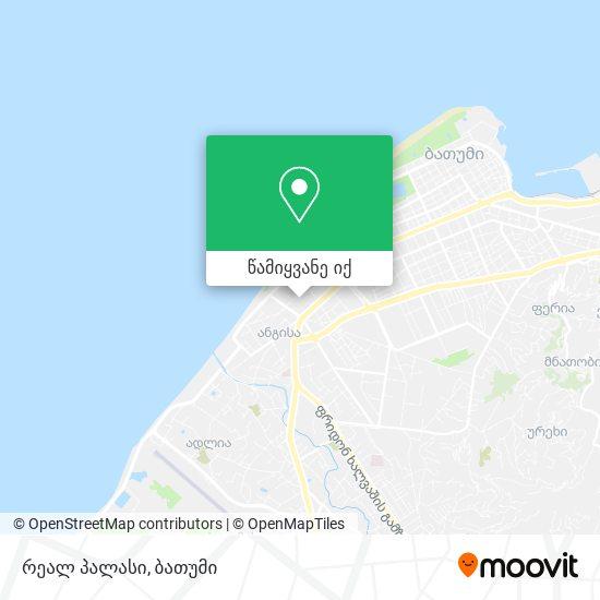 რეალ პალასი რუკა