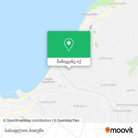 სასაფლაო რუკა