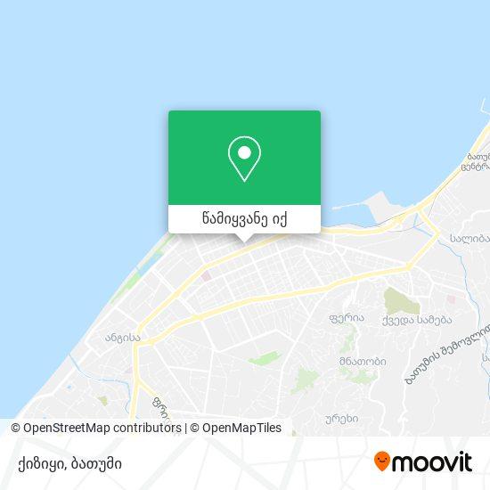 ქიზიყი რუკა